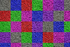 Doormat colors Royalty Free Stock Images