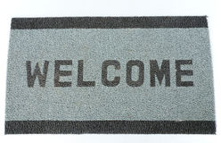 Doormat di Welcom immagine stock