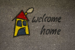 Doormat Royalty Free Stock Photography