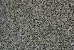Doormat grigio Fotografia Stock