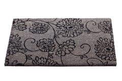 Doormat grigio Fotografie Stock Libere da Diritti