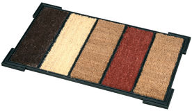 Doormat, isolated Stock Photography