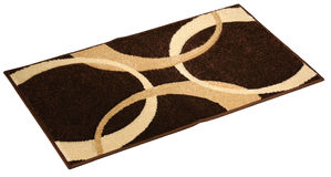Doormat, isolated. Studio shot of a doormat, isolated on a white background Royalty Free Stock Photography