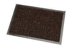 The doormat isolated Royalty Free Stock Image