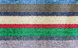 Doormat texture. Colorful Doormat texture high resolution Royalty Free Stock Image