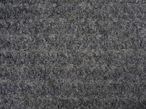 Doormat. Texture of grey doormat fibers Stock Photos