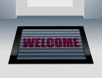 Doormat Welcome Stock Images