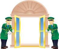 Doormen Stock Photography