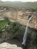 The Doorn River waterfall. In the Northern Cape region of South Africa Stock Photography