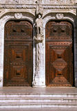 Doors. Entrance doors Royalty Free Stock Images
