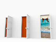 Doors Stock Photo