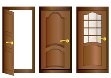 Doors. Stock Photo