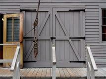 Doors. Old wooden doors royalty free stock photography