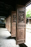 Doors. Door of traditional Chinese building Stock Photography