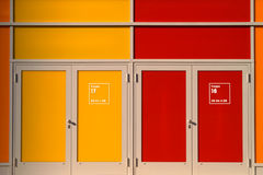 The doors Royalty Free Stock Images