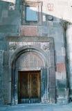 Doors. Main entrance in Echmiadsin,ancient temple,Armenia Stock Photos