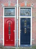 Doors. Two doors Royalty Free Stock Image