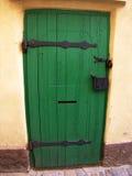 Doors. Green doors Royalty Free Stock Photography