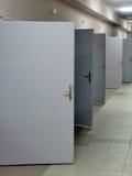 Doors. Hospital doors Royalty Free Stock Images