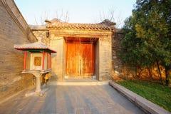 Doors. Old doors in the park of beijing Royalty Free Stock Image