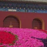 Doors. Of a palace, Beijing royalty free stock photos