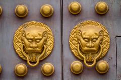 Doors of ancient Chinese Royalty Free Stock Image
