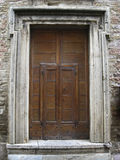 Doors in Assisi, Italy (2) Royalty Free Stock Images