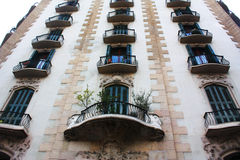 Doors and balconies Royalty Free Stock Photography