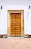 The doors of the Basilica of the Senor de Monserrate Royalty Free Stock Images