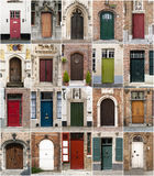 Doors from Bruges, Belgium. Royalty Free Stock Image