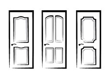 Doors collection Royalty Free Stock Photography