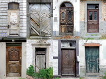 Doors Collection  - Broken, Lost and Forgotten Royalty Free Stock Photography