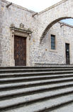 Doors of colonial morelia michoacan., Mexico Royalty Free Stock Photo