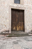 Doors of colonial morelia michoacan., Mexico Stock Photography