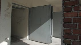 Doors in concentration camp