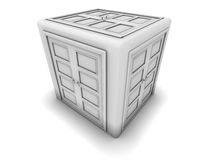 The Doors cube Royalty Free Stock Photos