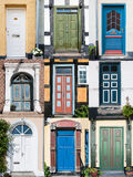 Doors of Denmark Stock Photo
