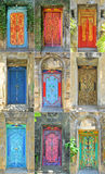 Doors design in Bali Royalty Free Stock Image