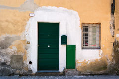 Doors detail from the medieval town Lucca. In italy Royalty Free Stock Photography