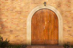 Front Doors Arched Stock Photos