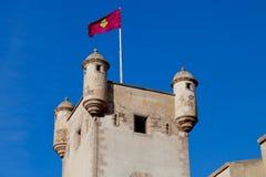 Doors of Earth of Cadiz, Spain Stock Photography