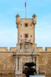 Doors of Earth of Cadiz, Spain Stock Photo