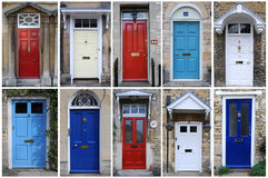 Doors in England Royalty Free Stock Images