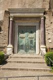 Doors of first Roman Senate, the Forum, Rome, Italy, Europe Royalty Free Stock Photography