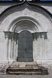 The doors of the George Cathedral. Russia, Vladimir region, Yuriev-Polsky Stock Photo
