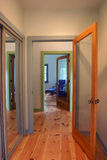 Doors and Hallway - clipping path Stock Photo