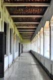Doors and Hallways Building. In a building called `LAWANG SEWU` in Semarang city, Central Java-Indonesia royalty free stock photography