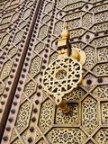 Doors of the Hassan Mosque in Rabat, Morocco Royalty Free Stock Photos