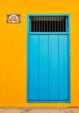 Doors of Havana. Architectural detail of colorful door in Havana, Cuba stock photos