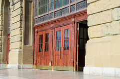 Doors Of Historical Building Royalty Free Stock Image